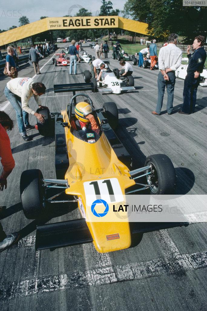 1982 British Formula Ford 2000 Championship.