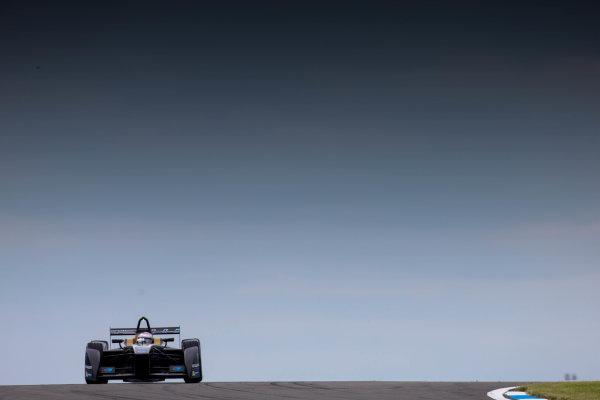FIA Formula E Test Day, Donington Park, UK.  3rd - 4th July 2014.  Jarno Trulli, Trulli GP. Photo: Malcolm Griffiths/FIA Formula E ref: Digital Image F80P7419