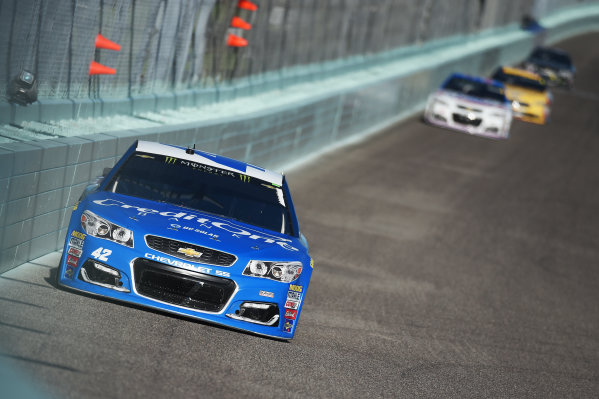Monster Energy NASCAR Cup Series Homestead-Miami Speedway, Homestead, Florida USA Sunday 19 November 2017 Kyle Larson, Chip Ganassi Racing, Credit One / DC Solar Chevrolet SS World Copyright: Rainier Ehrhardt / LAT Images ref: Digital Image DSC_1779