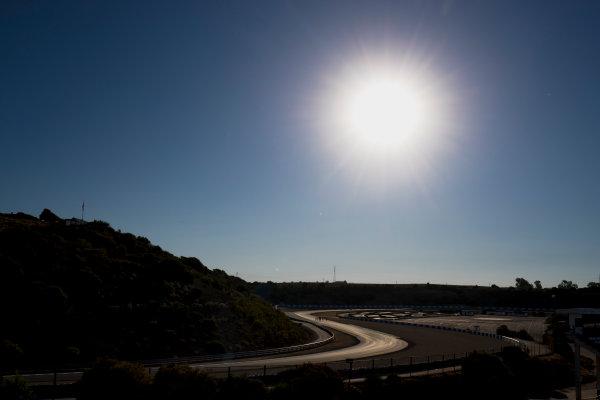 2017 GP3 Series Round 7.  Circuito de Jerez, Jerez, Spain. Thursday 5 October 2017. A view of the track. Photo: Zak Mauger/GP3 Series Media Service. ref: Digital Image _56I3767