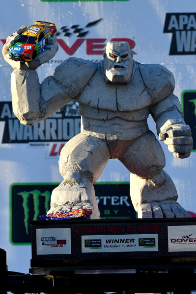 Monster Energy NASCAR Cup Series Apache Warrior 400 Dover International Speedway, Dover, DE USA Sunday 1 October 2017 Kyle Busch, Joe Gibbs Racing, M&M's Caramel Toyota Camry wins World Copyright: Rusty Jarrett LAT Images