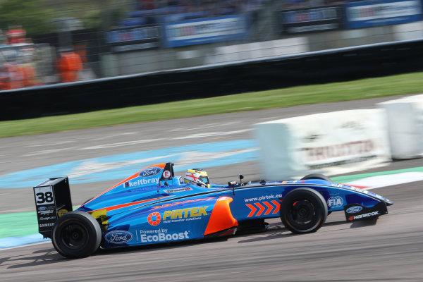 2016 British F4 Championship, Thruxton, 7th-8th My 2016, Jamie Caroline (GBR) Jamun Racing-MBM MSA Formula  World copyright. Jakob Ebrey/LAT Photographic