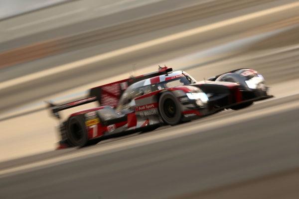 2016 FIA World Endurance Championship, Bahrain International Circuit, 17th-19th November 2016, Marcel Fassler / Andre Lotterer / Benoit Treluyer - Audi Sport Team Joest Audi R18  World Copyright. Jakob Ebrey/LAT Photographic