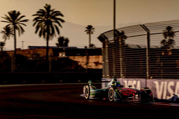 2016/2017 FIA Formula E Championship. Marrakesh ePrix, Circuit International Automobile Moulay El Hassan, Marrakesh, Morocco. Saturday 12 November 2016. Lucas Di Grassi (BRA), ABT Schaeffler Audi Sport, Spark-Abt Sportsline, ABT Schaeffler FE02.  Photo: Zak Mauger/LAT/Formula E ref: Digital Image _X0W5423