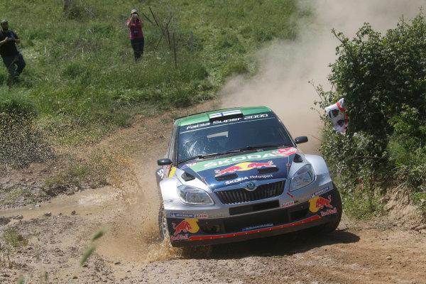 Round 05-Rally Italia Sardegna. 05th-08th May 2011.Juho Hanninen, Skoda S2000, Action.Worldwide Copyright: McKlein/LAT
