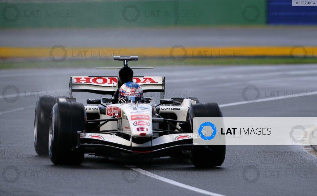2006 Australian Grand Prix - Saturday Qualifying,