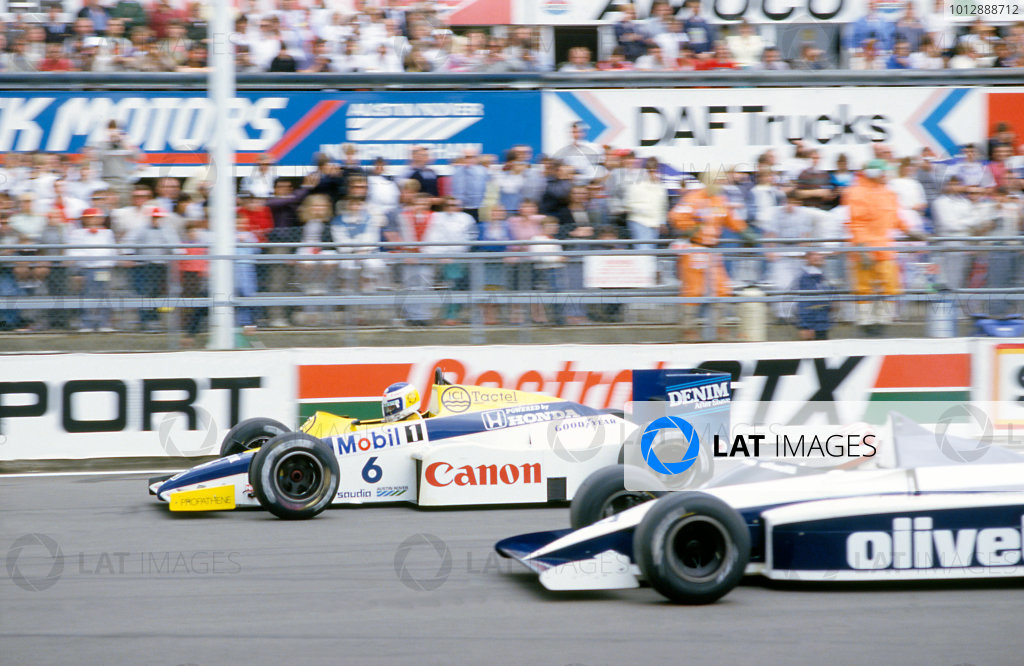 1985 British Grand PrixSilverstone, England