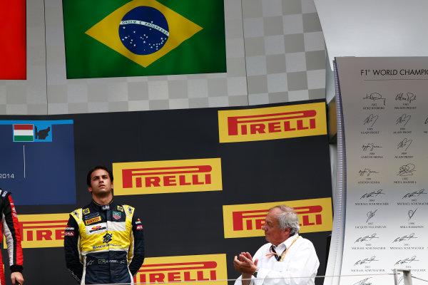 2014 GP2 Series Round 7. Hungaroring, Budapest, Hungary. Sunday 27 July 2014. Felipe Nasr (BRA, Carlin)  Photo: Sam Bloxham/GP2 Series Media Service. ref: Digital Image _SBL9482