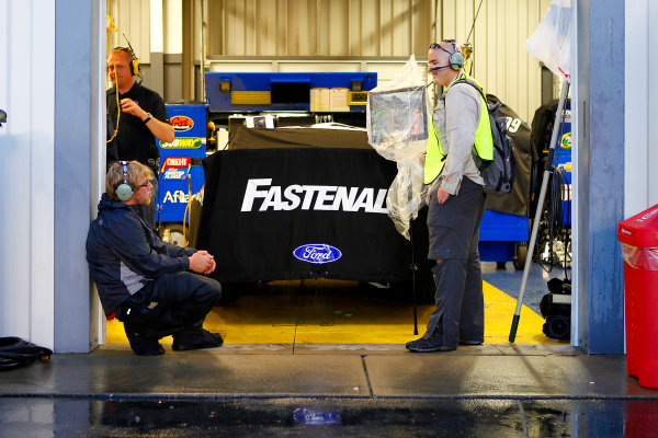 28-29 June, 2013, Sparta, Kentucky USA Carl Edwards car during rain delay © 2013, Russell LaBounty LAT Photo USA .