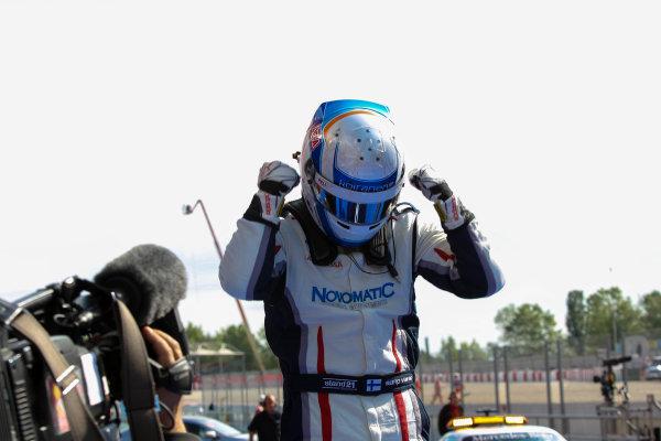 2013 GP3 Series. Round 1.  Circuit de Catalunya, Barcelona, Spain.  12th May Sunday Race 02 Kevin Korjus (  Portrait  World Copyright: Malcolm Griffiths/GP3 Media Service.  Ref: Digital ImageC76D5742.JPG