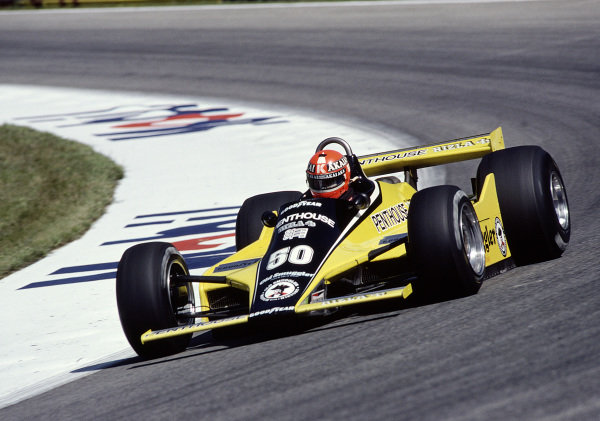 1980 Austrian Grand Prix.Osterreichring, Zeltweg, Austria.15-17 August 1980.Rupert Keegan (Williams FW07B Ford) 15th position.Ref-80 AUT 26.World Copyright - LAT Photographic
