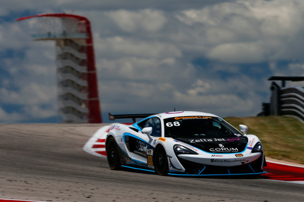 IMSA Continental Tire SportsCar Challenge Advance Auto Parts SportsCar Showdown Circuit of The Americas, Austin, TX USA Thursday 4 May 2017 68, McLaren, McLaren GT4, GS, Kenny Wilden, Rod Randall World Copyright: Jake Galstad LAT Images