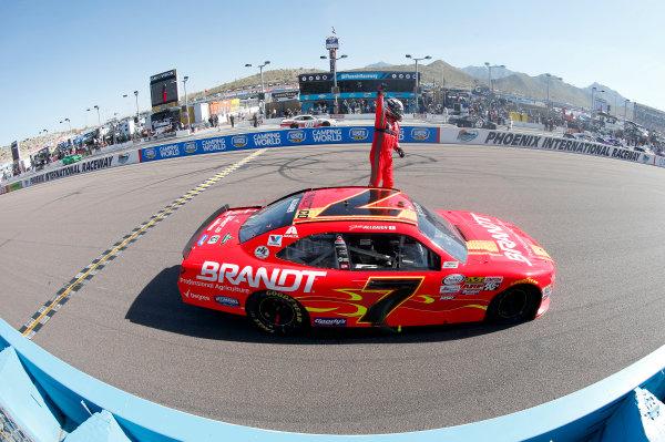 2017 NASCAR Xfinity Series DC Solar 200 Phoenix International Raceway, Avondale, AZ USA Saturday 18 March 2017 Justin Allgaier World Copyright: Matthew T. Thacker/LAT Images ref: Digital Image 17PHX1mt1344