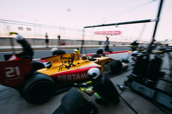 Bahrain International Circuit, Sakhir, Bahrain. Friday 31 March 2017 Sean Gelael (INA) Pertamina Arden  Photo: Malcolm Griffiths/FIA Formula 2 ref: Digital Image MALC1729