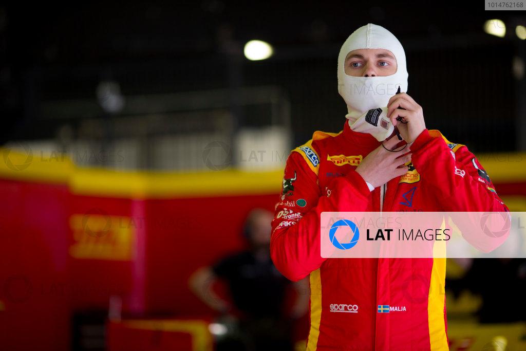 Circuit de Barcelona Catalunya, Barcelona, Spain. Monday 13 March 2017. Gustav Malja (SWE, Racing Engineering). Photo: Alastair Staley/FIA Formula 2 ref: Digital Image 580A8773