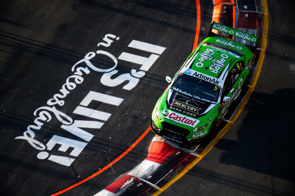 2017 Supercars Championship Round 12.  Gold Coast 600, Surfers Paradise, Queensland, Australia. Friday 20th October to Sunday 22nd October 2017. Mark Winterbottom, Prodrive Racing Australia Ford.  World Copyright: Daniel Kalisz/LAT Images Ref: Digital Image 201017_VASCR12_DKIMG_1416.jpg