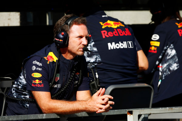 Spa Francorchamps, Belgium.  Friday 25 August 2017. Christian Horner, Team Principal, Red Bull Racing.  World Copyright: Andy Hone/LAT Images  ref: Digital Image _ONZ8774