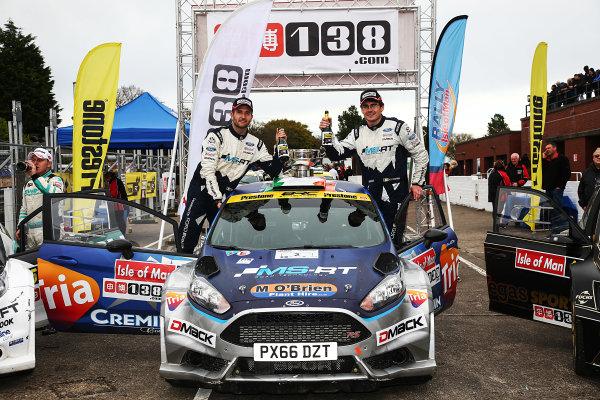 2017 Prestone MSA British Rally Championship, Rally Isle of Man. 14th - 16th September 2017. Keith Cronin / Mikie Galvin Ford Fiesta R5. World Copyright: JEP/LAT Images