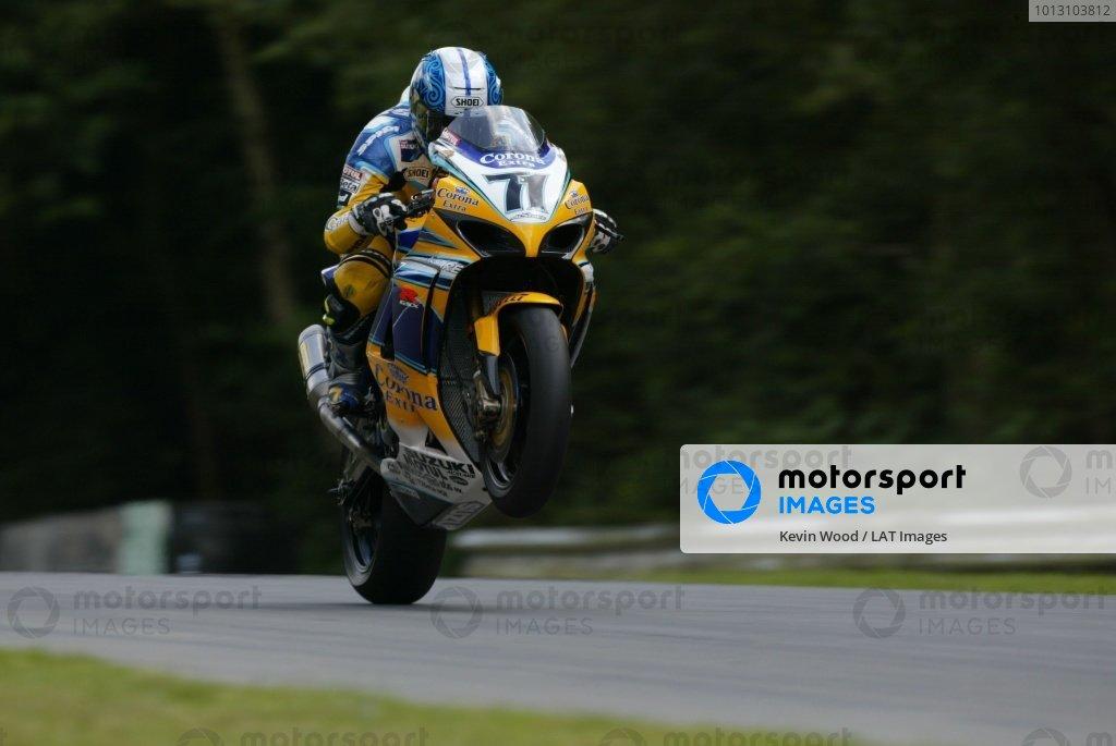 2007 World Superbike Championship. Brands Hatch, England. 3rd - 5th August 2007. Yukio Kagayama, Suzuki GSXR1000 K7, action. World Copyright: Kevin Wood/LAT Photographic ref: Digital Image