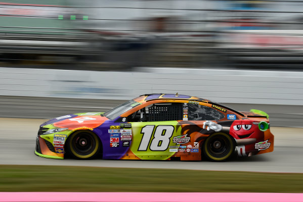 Monster Energy NASCAR Cup Series First Data 500 Martinsville Speedway, Martinsville VA USA Saturday 28 October 2017 Kyle Busch, Joe Gibbs Racing, M&M's Halloween Toyota Camry World Copyright: Scott R LePage LAT Images ref: Digital Image lepage-171028-mart-3616