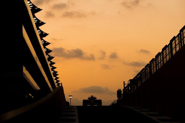 Yas Marina Circuit, Abu Dhabi, United Arab Emirates. Tuesday 28 November 2017. Kimi Raikkonen, Ferrari SF70H.   World Copyright: Zak Mauger/LAT Images  ref: Digital Image _O3I0724