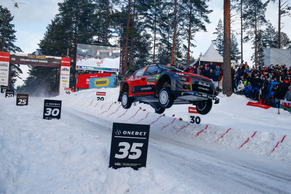 2018 FIA World Rally Championship, Round 02, Rally Sweden 2018, February 15-18, 2018. Mads Ostberg, Citonen, Action Worldwide Copyright: McKlein/LAT