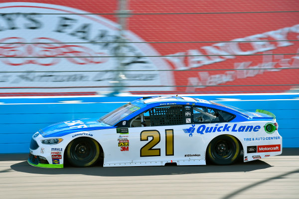 Monster Energy NASCAR Cup Series Can-Am 500 Phoenix Raceway, Avondale, AZ USA Sunday 12 November 2017 Ryan Blaney, Wood Brothers Racing, SKF / Quick Lane Tire & Auto Center Ford Fusion World Copyright: Nigel Kinrade LAT Images