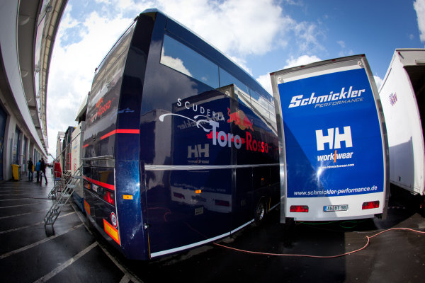 Scuderia Toro Ross transporter