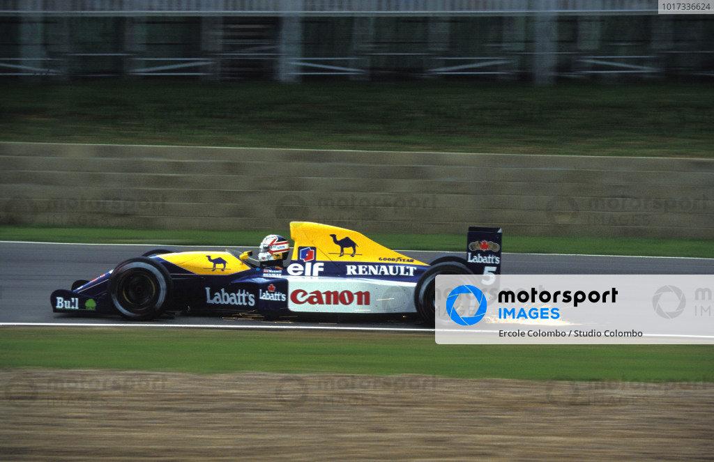 Nigel Mansell, Williams FW14 Renault.