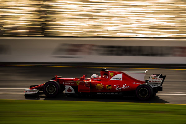 Sebastian Vettel (GER) Ferrari SF70-H at Formula One World Championship, Rd1, Australian Grand Prix, Practice, Albert Park, Melbourne, Australia, Friday 24 March 2017. BEST IMAGE