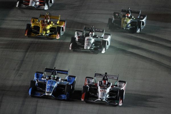 Marco Andretti, Andretti Herta with Marco & Curb-Agajanian Honda, Conor Daly, Carlin Chevrolet