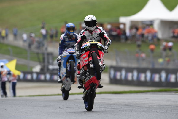 Race winner Romano Fenati, Team O
