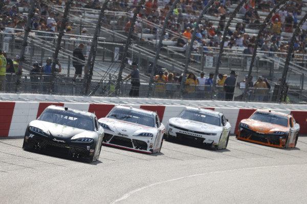 #54: Ty Gibbs, Joe Gibbs Racing, Toyota Supra Joe Gibbs Racing, #20: Harrison Burton, Joe Gibbs Racing, Toyota Supra DEX Imaging