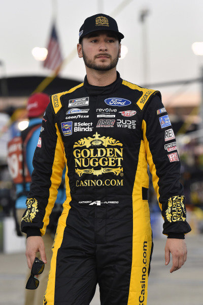 #38: Anthony Alfredo, Front Row Motorsports, Ford Mustang GoldenNuggetSports.com