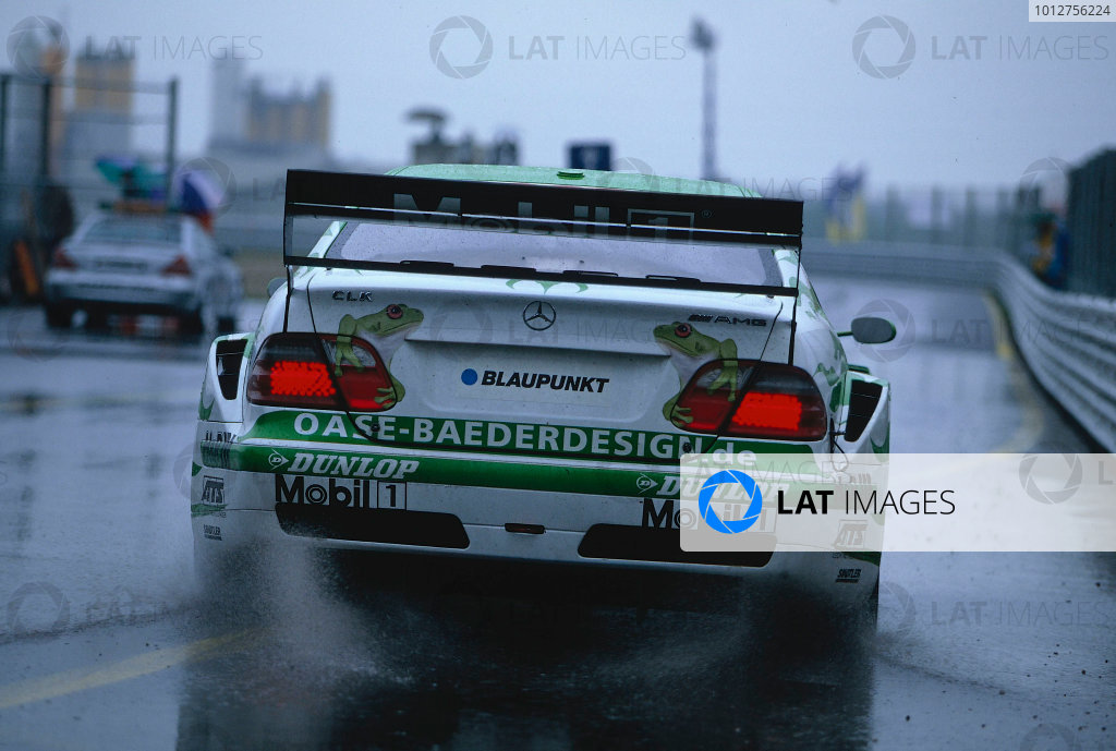 2002 DTM Championship, Zolder, Belgium. Rd 2, 4th-5th May 2002.