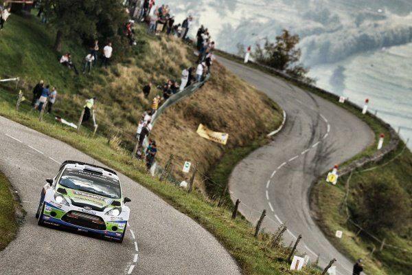 Dennis Kuipers (NED) Ford Fiesta RS WRC. FIA World Rally Championship, Rd11, Rallye De France, Strasbourg, Alsace, France. Day Two, Saturday 4 October 2014.
