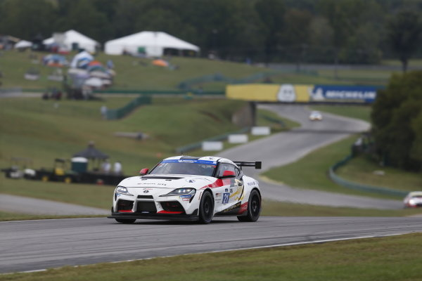 #21: Riley Motorsports Toyota Supra GT4, GS: Anton Dias Perera, Scott Andrews