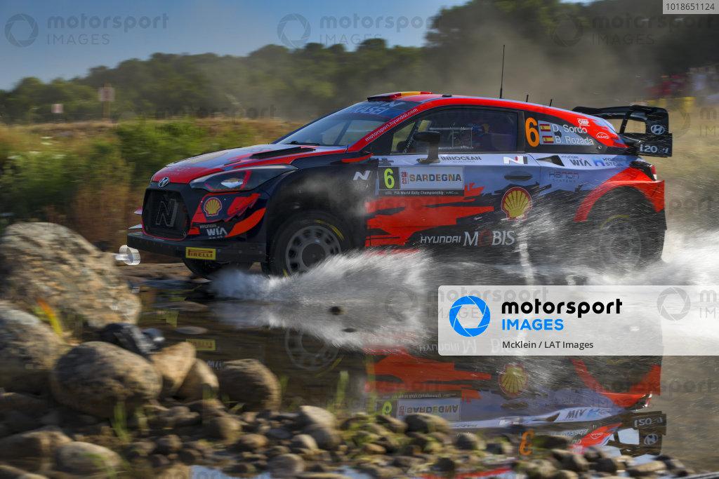 Dani Sordo (ESP), Hyundai World Rally Team, Hyundai i20 Coupe WRC 2021