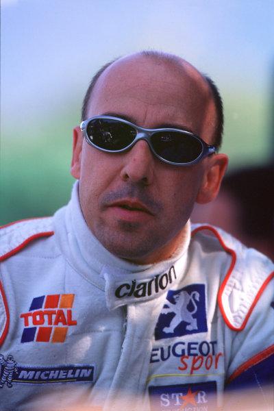 2001 FIA World Rally ChampsRallye de France, Ajaccio, Corsica, 18th-21st October 2001.Didier Auriol, Portrait.World Copyright: LAT Photographic/McKlein.ref: 35mm Image A08