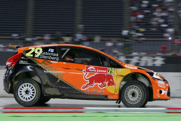 Round 10 Rally Japan 9-12/9 2010Worldwide Copyright: McKlein/LAT