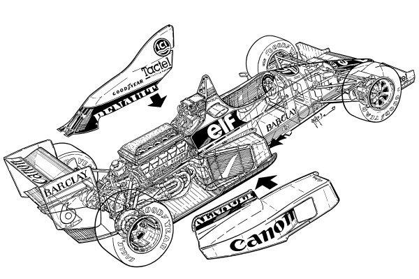 Williams FW12C 1989