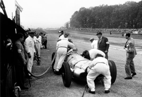 Donington Park, Great Britain. 22 October 1938.
