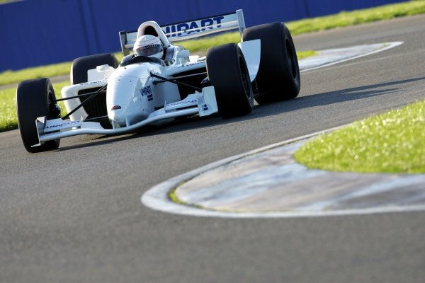 Christian Danner (GER)Grand Prix Masters Testing, Day Two, Silverstone, England, 27 October 2005.DIGITAL IMAGE