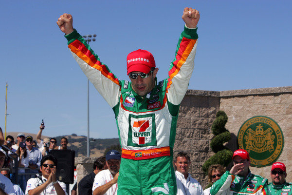 Tony Kanaan (BRA), Andretti Green Racing Dallara Honda, wins the Argent Mortgage Indy Grand Prix. IRL IndyCar Series, Rd14, Argent Mortgage Indy Grand Prix, Infineon Raceway, Sonoma, California, USA. 26-28 August 2005. DIGITAL IMAGE