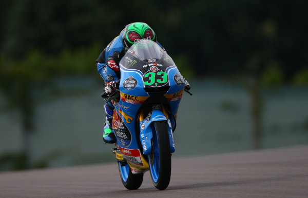 2017 Moto3 Championship  - Round 9 Sachsenring, Germany Friday 30 June 2017 Enea Bastianini, Estrella Galicia 0,0 World Copyright: David Goldman/LAT Images ref: Digital Image 681048