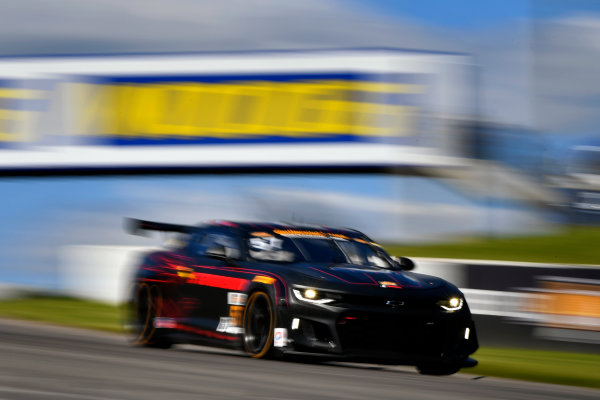 IMSA Continental Tire SportsCar Challenge Mobil 1 SportsCar Grand Prix Canadian Tire Motorsport Park Bowmanville, ON CAN Saturday 8 July 2017 57, Chevrolet, Chevrolet Camaro GT4.R, GS, Matt Bell, Robin Liddell World Copyright: Scott R LePage/LAT Images