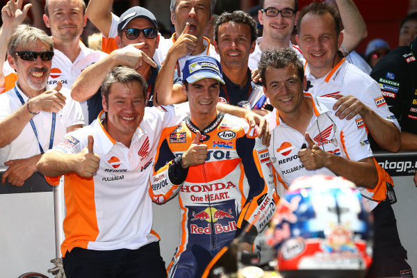 2017 MotoGP Championship - Round 7 Circuit de Catalunya, Barcelona, Spain Sunday 11 June 2017 Dani Pedrosa, Repsol Honda Team World Copyright: Gold & Goose Photography/LAT Images ref: Digital Image 677077