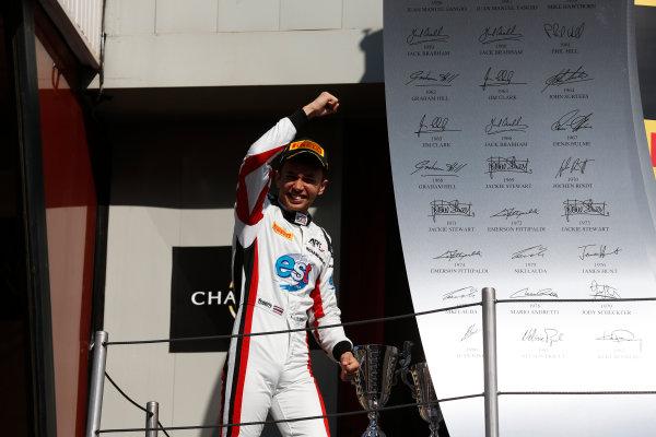 2016 GP3 Series Round 1 Circuit de Catalunya, Barcelona, Spain. Sunday 15 May 2016. Alexander Albon (THA, ART Grand Prix)  Photo: Sam Bloxham/GP3 Series Media Service. ref: Digital Image _R6T9444