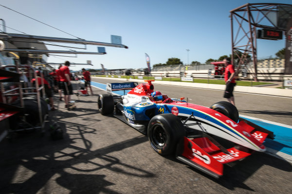 Le Castellet (FRA) JUN 24-26 2016 - Forth round of the Formula V8 3.5 series at circuit Paul Ricard. Pietro Fittipaldi #2 Fortec Motorsports. Action. © 2016 Diederik van der Laan  / Dutch Photo Agency / LAT Photographic