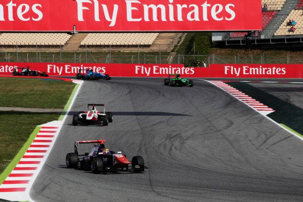 2015 GP3 Series Round 1. Circuit de Catalunya, Barcelona, Spain. Sunday 10 May 2015. Oscar Tunjo (COL, Trident). Photo: Zak Mauger/GP3 Series Media Service. ref: Digital Image _MG_7309
